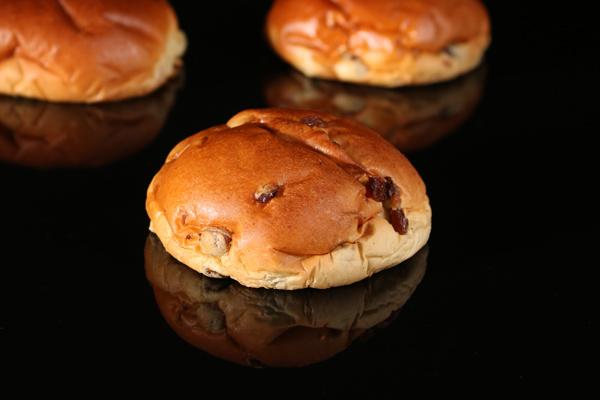 De Bakkers Combinatie – Zachte rozijnenbol (bio)