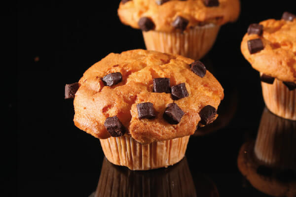 De Bakkers Combinatie – Muffin vanilla/chunck (crown)