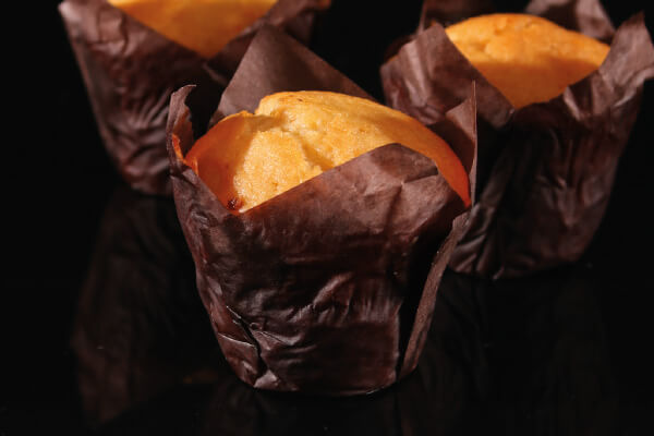 De Bakkers Combinatie – Muffin vanilla (tulp)